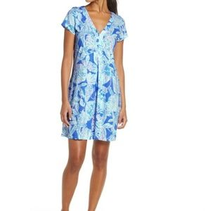 Lily Pulitzer Amina Cap Sleeve Dress Size SMALL